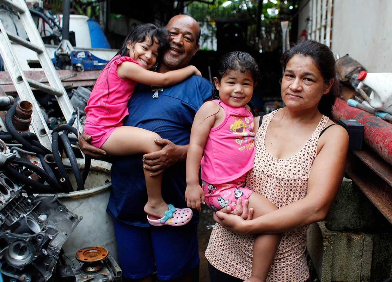 Las principales víctimas. La mayoría de personas a las que se les ha quitado el derecho sobre las casas son profesionales que vieron afectados sus ingresos por la crisis económica.