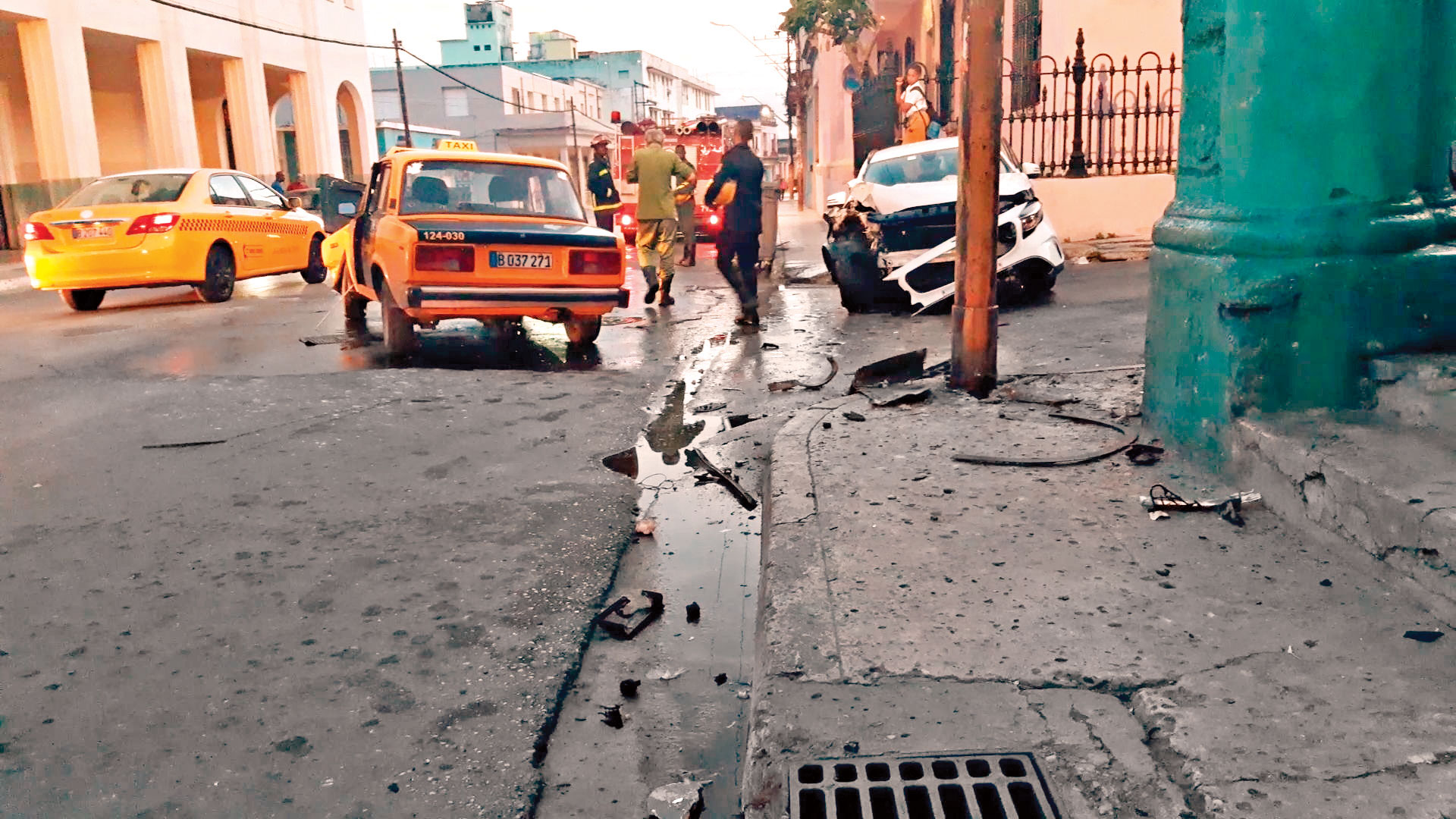 Accidente de tránsito en Cuba