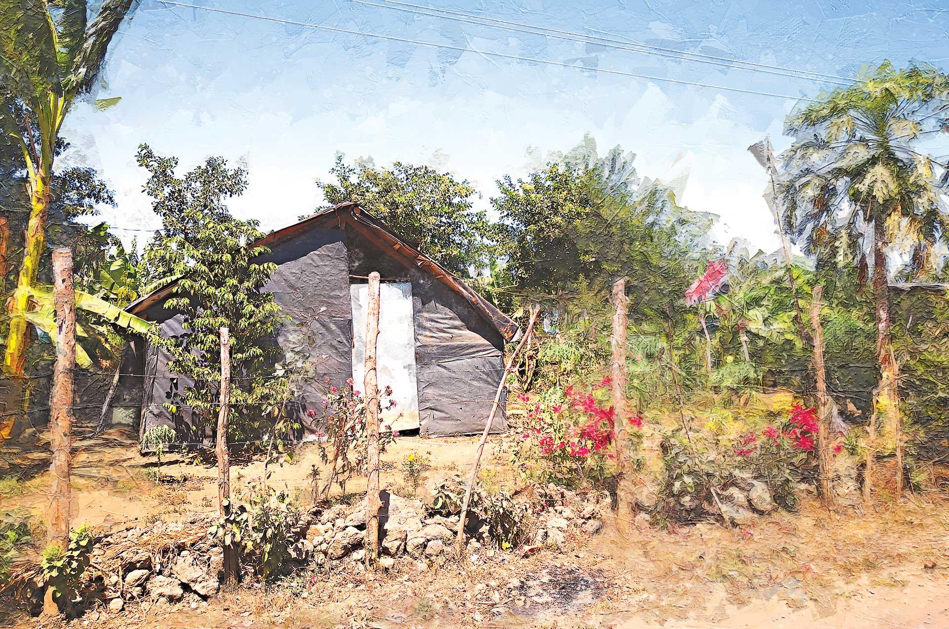 imagen de casa de agricultores